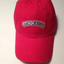 NEW SMUCKERS Baseball Hat Cap Ohio Jelly Jam Red