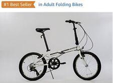 EuroMini ZiZZO Campo Folding Bike (No Box 📦) + Free Bonus Helmet !! Brand New !