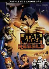Star Wars Rebels: Complete Season 1 (DVD, 2015, 3-Disc Set)