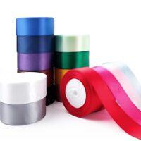 1 Roll 25 Yard Multicolor Silk Satin Ribbon Wedding DIY Christmas Festival Decor