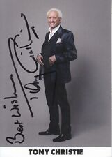 TONY CHRISTIE  SIGNED PICTURE
