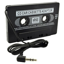 Audio Cassette Tape Adapter Aux Cable Cord 3.5mm Jack fr to MP3 iPod Player T@