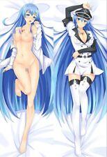 Hot Anime Dakimakura :Akame Ga Kill Esdese Esdeath  body pillow case 150*50cm