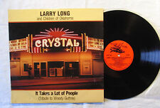 Larry Long And Children Of Oklahoma ‎– It Takes A Lot Of People  LP
