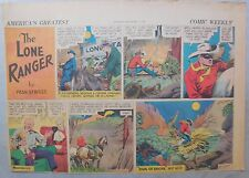 Lone Ranger Sunday Page by Fran Striker and Charles Flanders from 10/1/1939