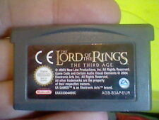 LORD OF THE RINGS THE THIRD AGE  GBA GAMEBOY ADVANCE NINTENDO TESTED CARTRIDGE