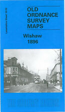 OLD ORDNANCE SURVEY MAP WISHAW 1896