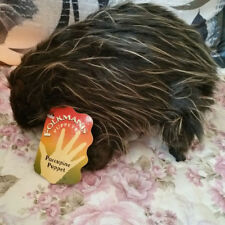 Porcupine Hand Puppet by Folkmanis Plush Toy Doll Glove Gift