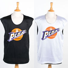 VINTAGE RETRO REVERSIBLE MESH BASKETBALL VEST TANK JERSEY SHIRT KIT TOP PLBA XL