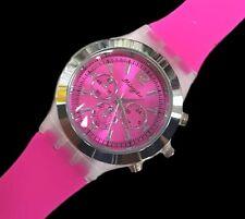 Orologio Da Polso Mingdu Uomo Donna Analogico Quarzo Fashion Moda Rosa lac