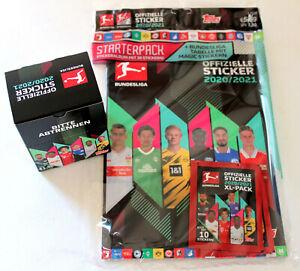 Topps Bundesliga 2020/2021 20/21 – Display Box 36 Bags + Album Starterpack
