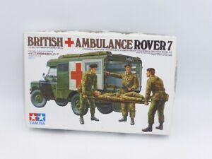 Tamiya 35082-1200 British 3/4ton Ambulance Rover 7, 1:35 Scale Plastic kit