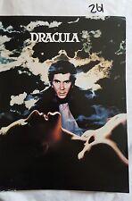 DRACULA 1979,MOVIE PROGRAM/PROMOTIONAL BOOK,FRANK LANGELLA LAURENCE OLIVIER