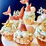Fishtail Silicone Fondant Mold Cake Decorating Sugarcraft Mould DIY Baking Tool