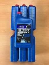 Pack 7 Volvo Penta 10W-40 Full Synthetic Gas Engine Oil 21681794 Genuine