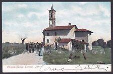PAVIA SALICE TERME 60 GODIASCO - Cartolina viaggiata 1904