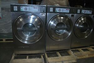 Continental front load washer coin operated 40 pound capacity
