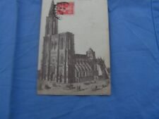 carte postale   strasbourg  vers 1900 cathedrale cote sud