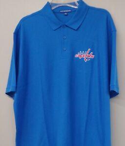 Washington Capitals NHL Hockey Mens Embroidered Polo Shirt XS-6XL, LT-4XLT New