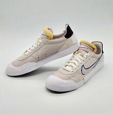 Nike Drop Type HBR Sneakers Mens Size 10.5 Vast Grey Hyper Blue Black White