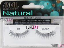 ARDELL Natural 110 Black False Eyelashes Fake Eye Lashes Professional Fashion