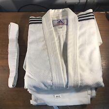 Adidas Judo Training Suit With Belt 3/160 Kids 100% Cotton