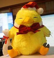 FINAL FANTASY XIV Chubby Chocobo Plush Toy Winter ver Christmas costumes