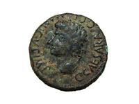 Monedas Ibericas: Segobriga. As, Caligula, 37 a 41 d.c.