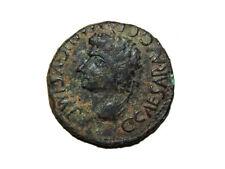 Monedas Ibericas: Segobriga. As, Caligula, 37 a 41 d.c.