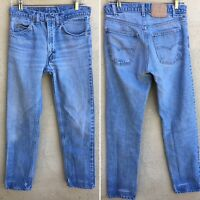 Vintage Levi's Jeans Orange Tab Naturally Distressed From Wear 31 X 31