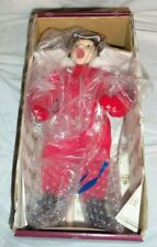 Merry Christmas Grandma Scotty Doll Norman Rockwell 1992 Limited Edition + Stand
