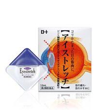 Rohto eye stretch eyedrops 12ml from japan