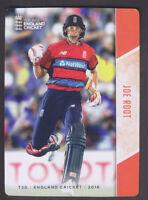 Tap N Play - England Cricket 2018 - Base # 89 Joe Root - Yorkshire