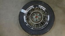 2002 Kawasaki BN125 BN 125 Eliminator K447' rear wheel rim 15in NICE