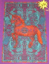 New HUGE Majestic Unicorn 60x90 Wall Hanging Decor Tapestry Bed Couch Cover 3D
