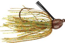 Strike King Bitsy Bug Mini Jig - Pumpkin - 1/4oz, Bass Yellow Belly Lure