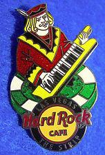 LAS VEGAS CASINO ROYAL JACK  POKER CHIP KEYBOARD BAND PLAYER Hard Rock Cafe PIN