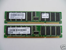 IBM 1GB KIT (2x 512MB) DDR DESKTOP RAM MEMORY STICKS 64MX72 FRU: 00P5767