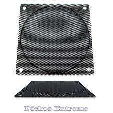 120mm Black Wire Fan Grill / Finger Guard- 1.5mm Hole