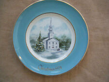 """""""Country Church""""~ 2Nd Ed. Avon Christmas Collectible Plate- 1974"""