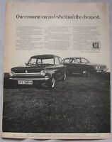 1979 NSU Ro80 & Prinz 4 Original advert