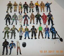 """Lot of 27 3.5"""" Army military Action Figures"""