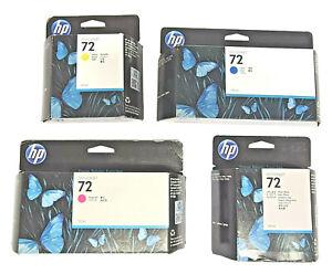 HP 72 Ink Cartridges Original Expired Designjet T610/T620/T770/T790/T1100/T2300