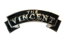 Classico The Vincent 1960's British BILANCIERE MOTO MOTOCICLETTA METALLO STEMMA