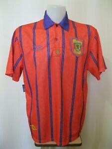 Scotland national team 1993/1994 Away Sz XL Umbro shirt jersey maillot football