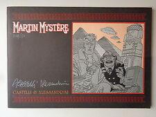 MARTIN MYSTERE SECRET BOOKS OF GLAMOUR NUMERATO E FIRMATO COPIA 84/150