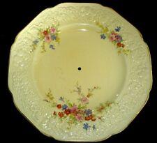 Crown Ducal Florentine Marie Multi Floral Patt 9 3/4 in Cake Plate - no handle