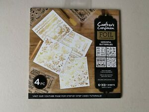 Crafters Companion Foil Transfers Butterflies