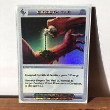 Chaotic Card - Super Rare - Grigeth Tar *I Combine Shipping*