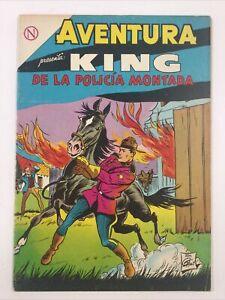 1964 SPANISH COMICS AVENTURA #321 KING DE LA POLICIA MONTADA NOVARO MEXICO